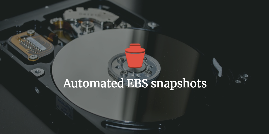 Complete code: automated EC2 snapshots and retention